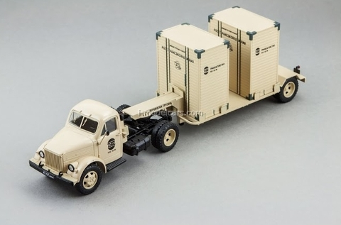 GAZ-51P and T-213 semi sand DIP 1:43