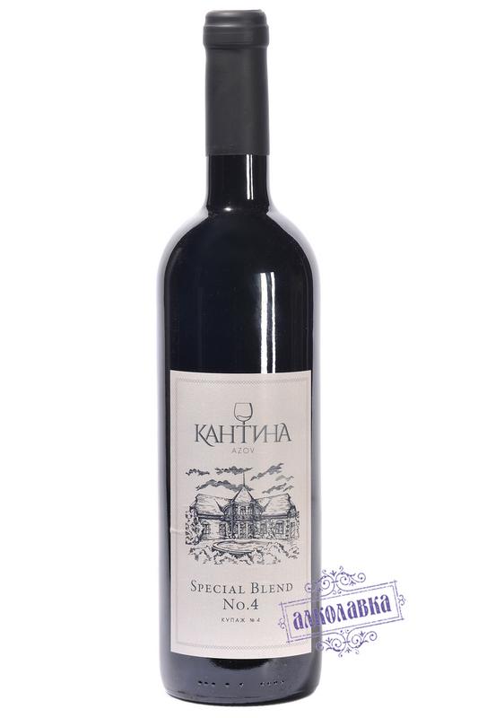 Вино Кантина купаж №4 2014г