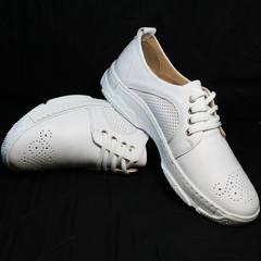 Спортивные туфли женские летние Derem 18-104-04 All White