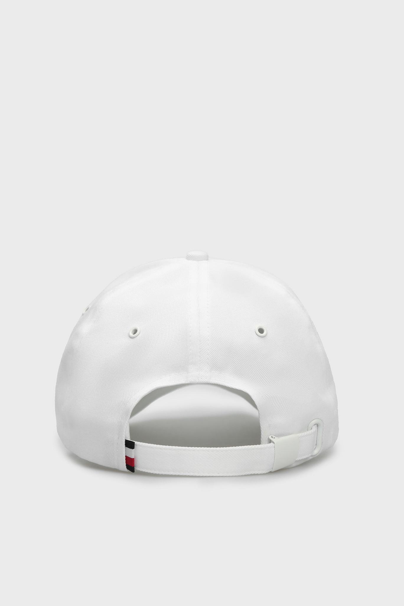 Мужская белая кепка ROUND PATCH Tommy Hilfiger