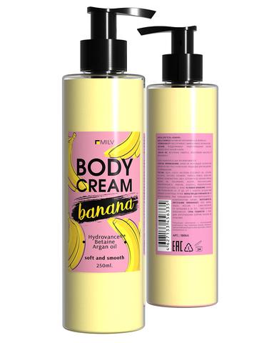 Крем для тела  Банан  250 мл.