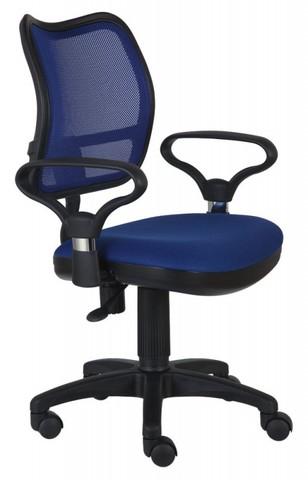 спинка сетка синий сиденье синий TW-10