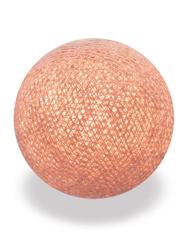 Хлопковый шарик коричневый