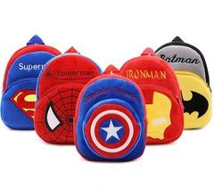 Супергерои рюкзак плюшевый в ассортименте