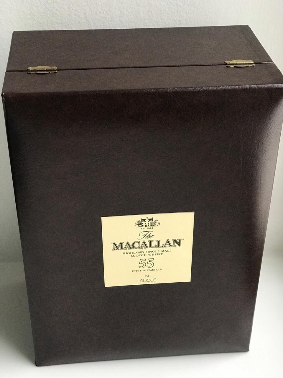 Виски Macallan Lalique 55 years