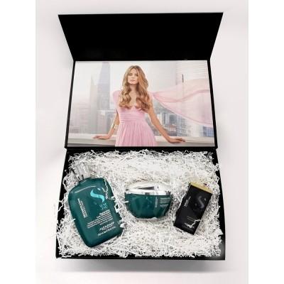 Alfaparf Milano Наборы: Подарочный набор для для поврежденных волос: шампунь, маска, масло (SDL Reconstruction 2019), 250мл+ 200мл+ 15мл