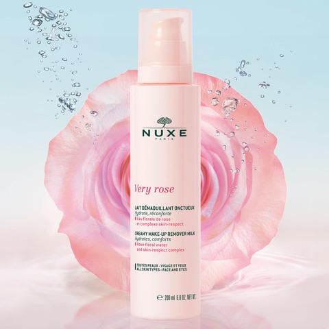 Nuxe Молочко для снятия макияжа для лица и кожи вокруг глаз VERY ROSE