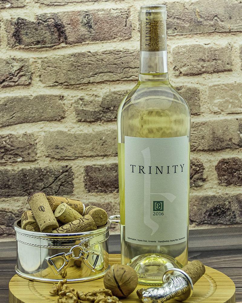 Вино Trinity Белое Cухое 2016 г.у. 14,0% 0,75 л.