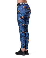Лосины NEBBIA Mid-waist Ocean Power leggings 566 SQ.blue