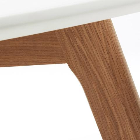 Журнальный столик Brick ø90 белый