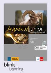 Aspekte junior B1.2+, Übungsbuch DA fuer Unterr...