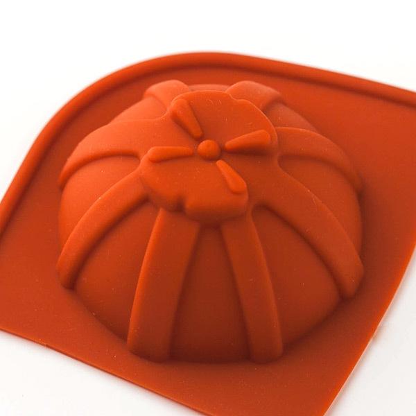 Форма для мыла Полусфера с бантом