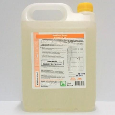 Средство для дезинфекции поверхностей и инструментов Бланидас Актив 5 л