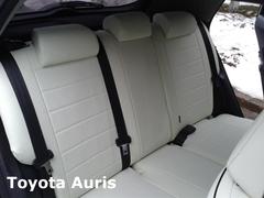 Чехлы на Toyota Auris 2006–2012 г.в.