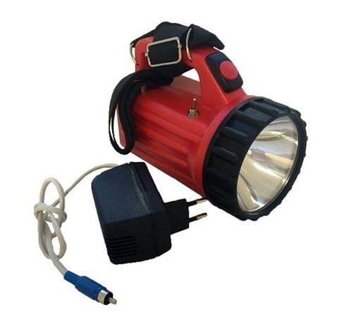 Фонарь железнодорожный аккумуляторный сигнально-осветительный светодиодный ФАСО-4С c зарядным устройством