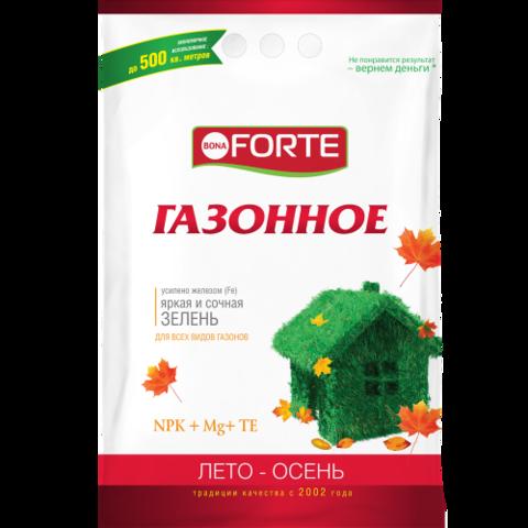 Bona Forte удобрение Газонное лето-осень 10кг