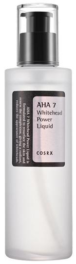COSRX AHA 7 Whitehead Power Liquid лосьон от белых точек с AHA кислотами 100мл