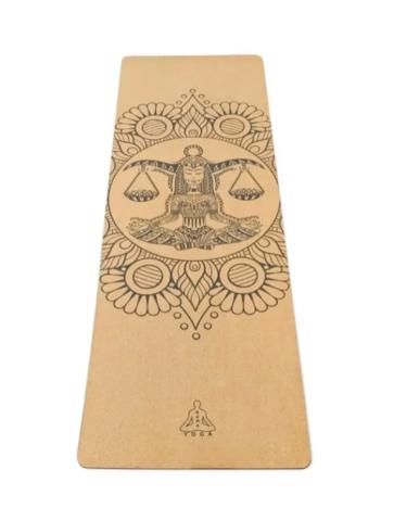 Коврик для йоги Libra Zodiac Collection 183*60*0,4 см из пробки