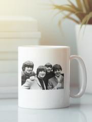 Кружка с изображением Битлз (The Beatles) белая 002