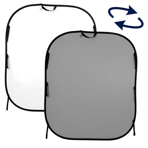 Фон Lastolite LB56GW Grey/White 150х180