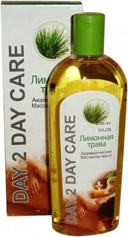 Массажное масло Аюрведическое(Дэй Ту Дэй Кэр) Лимонная трава 200мл