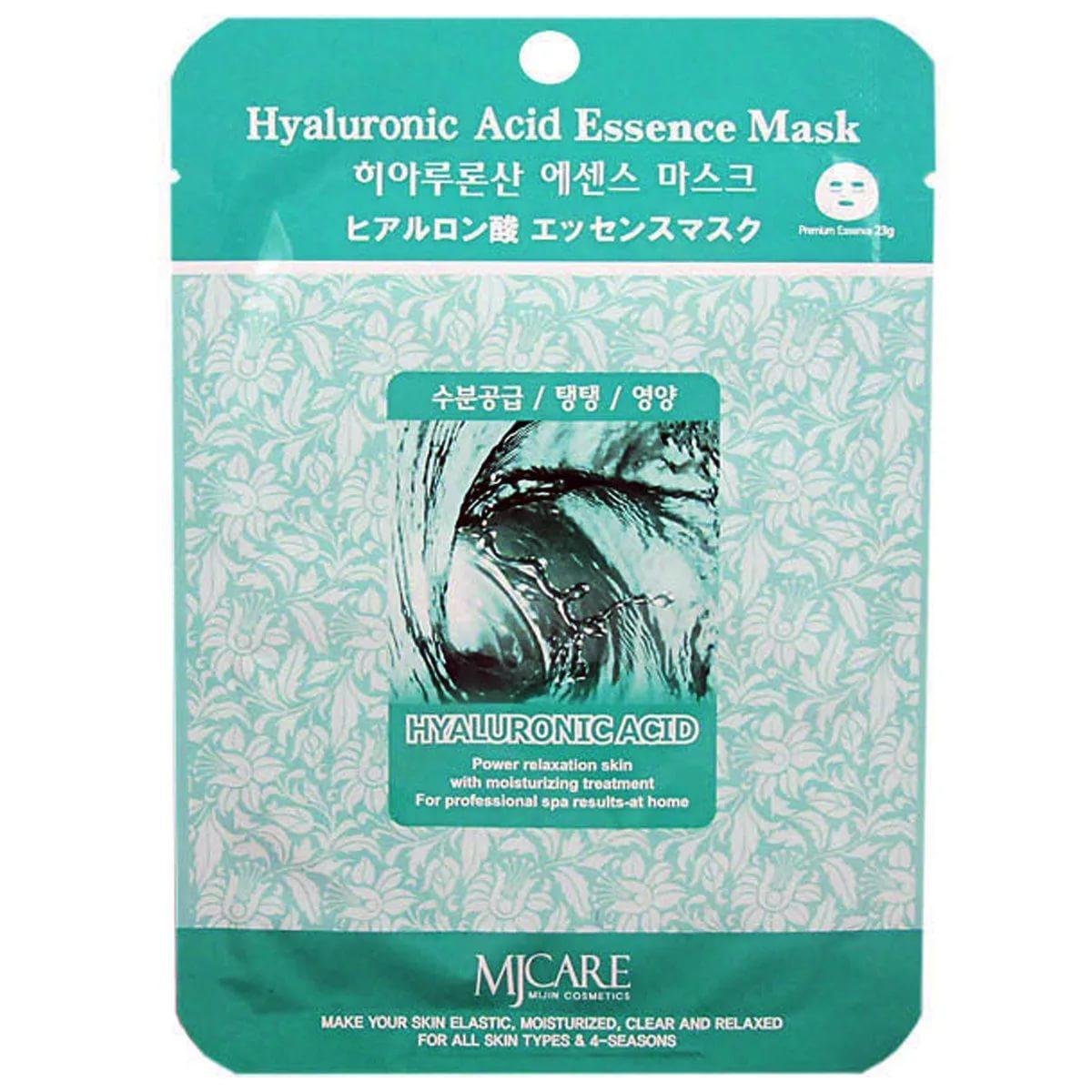 Тканевая маска для лица гиалуроновая кислота MIJIN Essense Mask