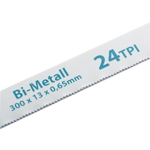 Полотна для ножовки по металлу, 300 мм, 24 TPI, BIM, 2 шт Gross