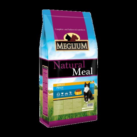 Meglium Adult Сухой корм для кошек с чувствительным пищеварением с рыбой