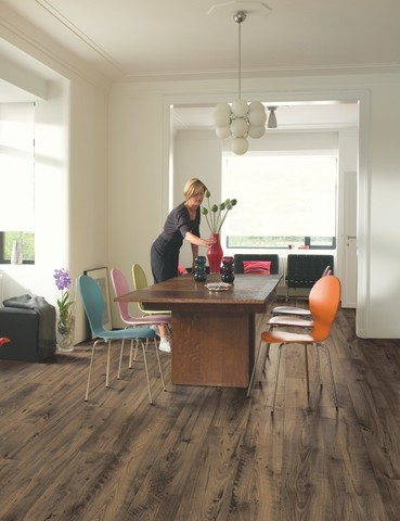 Reclaimed Chestnut brown | Ламинат QUICK-STEP UFW1544