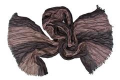 Шарф жатка темно-коричневый 0454