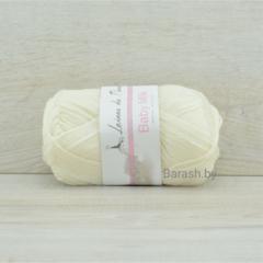 Пряжа Baby Milk (Бэби милк) Белый, Артикул:1