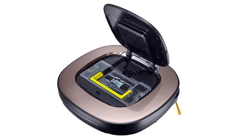 Умный робот Пылесос LG VRF6570LVMB цвет Золото