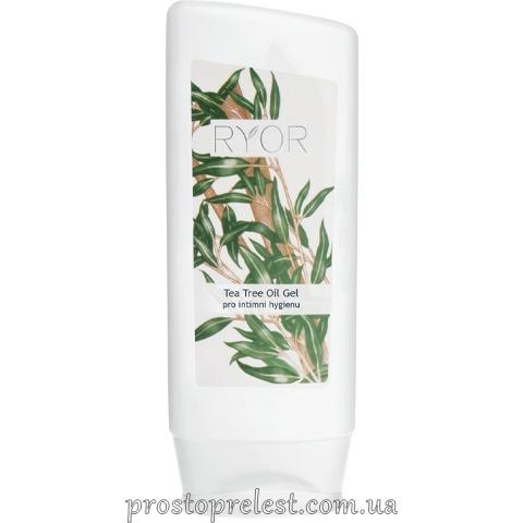 Ryor Tea Tree Oil Gel - Гель з чайною олією для інтимної гігієни