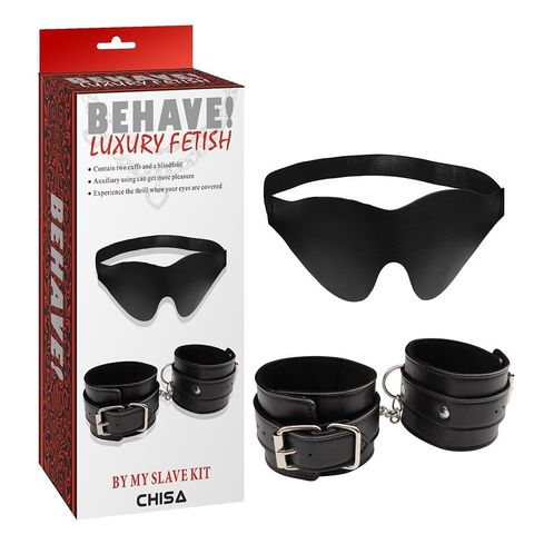 Набор By my slave Kit: маска и наручники