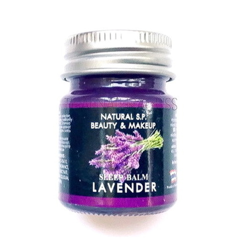 Тайский бальзам с лавандой Sleep Balm Lavender, 15 гр
