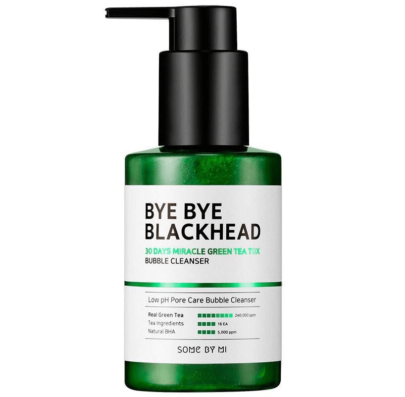 Маска-пенка Some By Mi Bye Blackhead Bubble Cleanser 120 ml