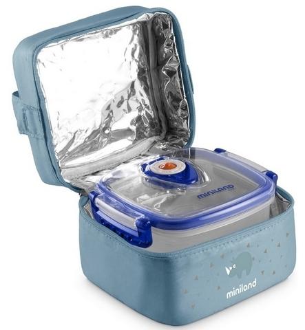Термосумка Miniland Pack-2-Go HermifFresh с двумя вакуумными контейнерами