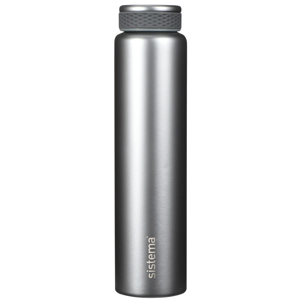 """Термобутылка Sistema """"Hydrate"""" 280 мл, цвет Светло-серый"""