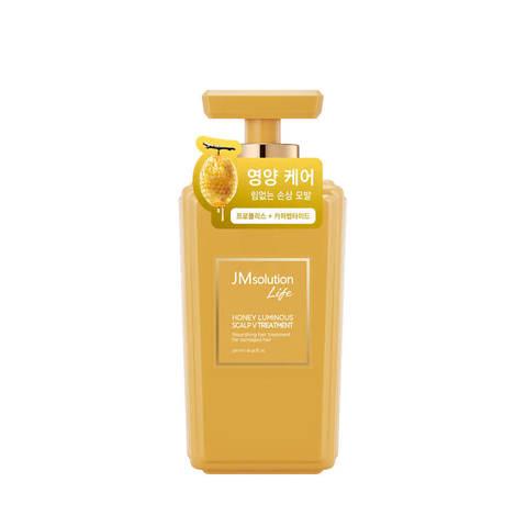 JMsolution Маска против выпадения волос с экстрактом меда JMsolution Life Honey Luminous Scarp V Treatment