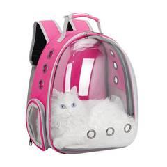 Рюкзак-переноска для кошек и собак с панорамным иллюминатором