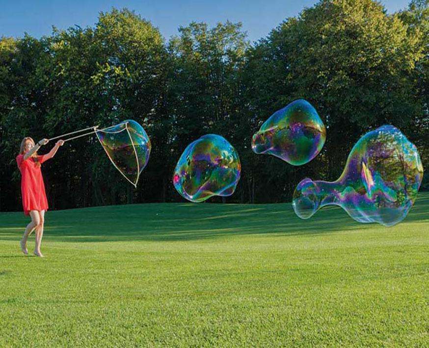Устройство для пускания больших мыльных пузырей Фото №3