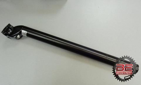 Подседельный штырь Zoom SP-207 30,9х400мм черный