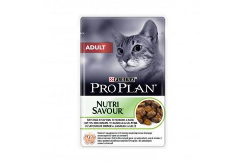 Консервы для взрослых кошек Purina Pro Plan Adult, ягнёнок в желе  85 г