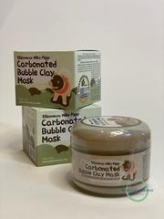 Elizavecca Маска для лица глиняно-пузырьковая - Milky piggy carbonated bubble clay mask, 100г