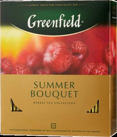 Чай красный Greenfield Summer Bouquet в пакетиках, 100 шт