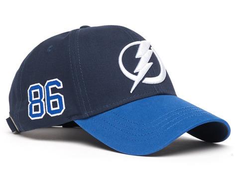 Бейсболка NHL Tampa Bay Lightning № 86