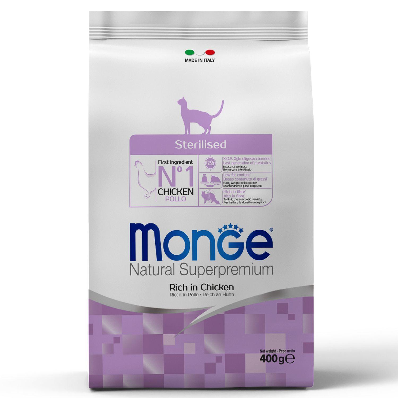 Сухой корм Корм для для стерилизованных/кастрированных кошек Monge Cat Sterilised 70011921_1.jpeg