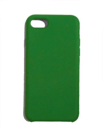 Чехол для iPhone 7/8/SE Софт тач мягкий эффект | микрофибра бирюзово-зеленый