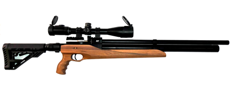 Пневматическая винтовка Ataman M2R Тип III Карабин Тактик SL 6,35 мм (Дерево)(магазин в комплекте) (516/RB-SL)