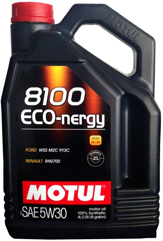 Motul 8100 Eco nergy 5W30 Cинтетическое моторное масло